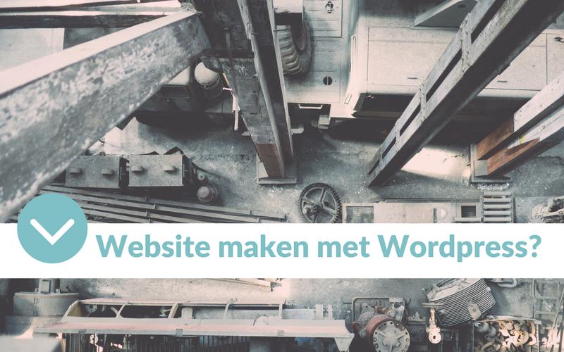 Een website maken met WordPress