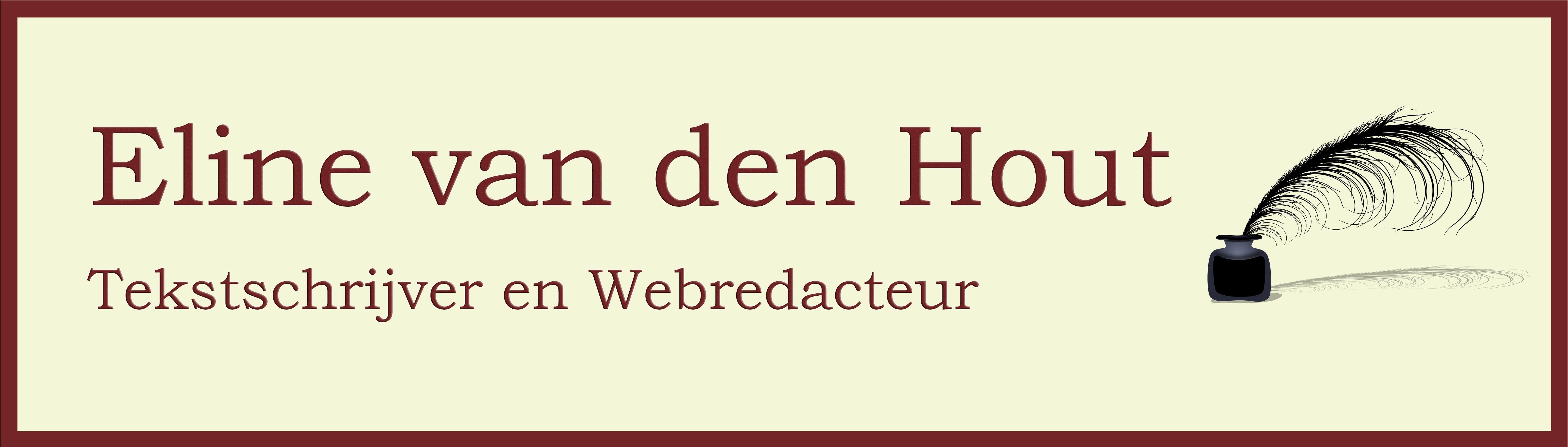Logo Eline van den Hout